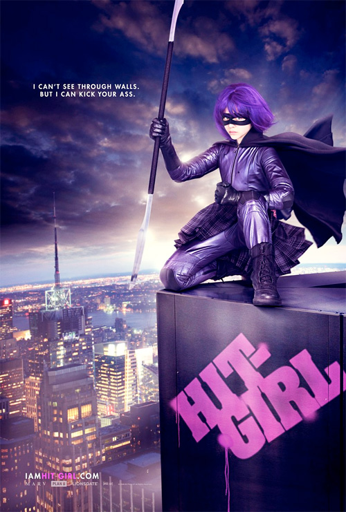 Hit-Girl Poster - Kick-Ass