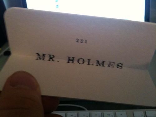 Sherlock Holmes Viral Cards