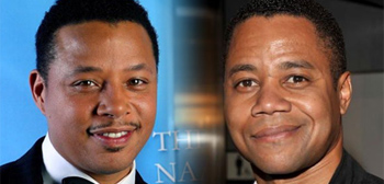 Terrence Howard and Cuba Gooding