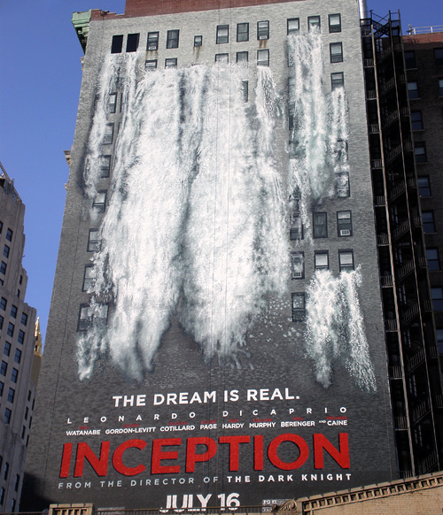 Inception Ads in New York City