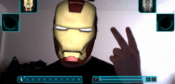 Iron Man 2 Augmented Reality
