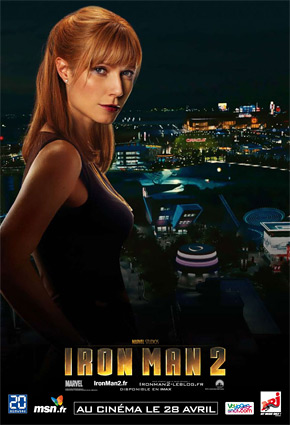 Iron Man 2 Poster - Pepper Potts