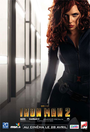 Iron Man 2 Poster - Black Widow