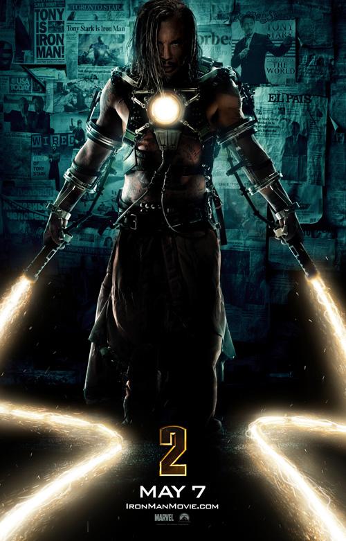 Iron Man 2 Poster - Whiplash