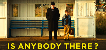 Exclusive: Poster for John Crowley's Is Anybody There?