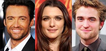 Hugh Jackman, Rachel Weisz, Robert Pattinson