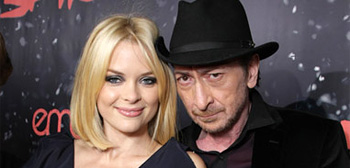 Jaime King and Frank Miller