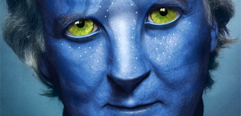 James Cameron as a Na'vi