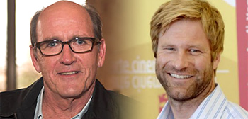 Richard Jenkins and Aaron Eckhart