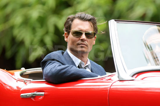 Johnny Depp as Paul Kemp in The Rum Diary