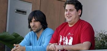 Jason Schwartzman and Jonah Hill