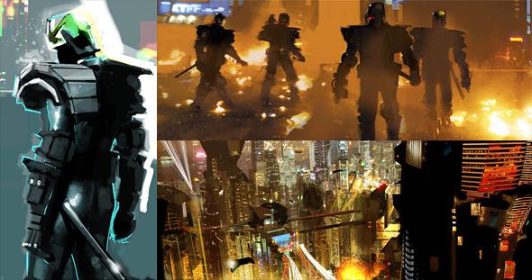 Judge Dredd Concept Art