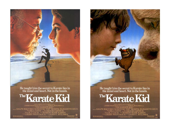 The Karate Kid - Where the Wild Things Are Fan Art