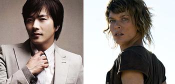 Kwon Sang-woo / Milla Jovovich