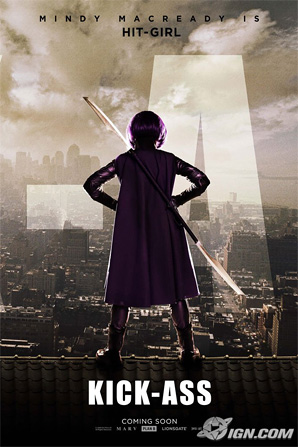 Kick-Ass Poster - Hit-Girl