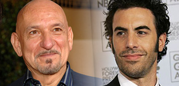 Sacha Baron Cohen and Ben Kingsley