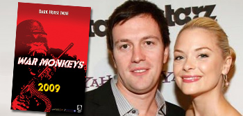 War Monkeys - Kyle Newman and wife Jaime King