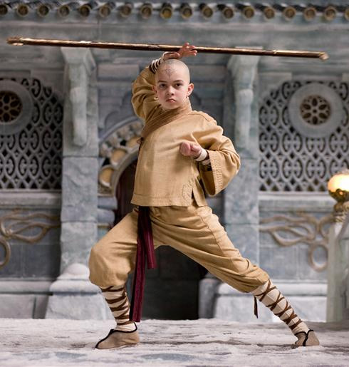 Aang in The Last Airbender