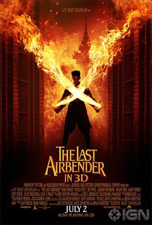 The Last Airbender Poster - Zuko
