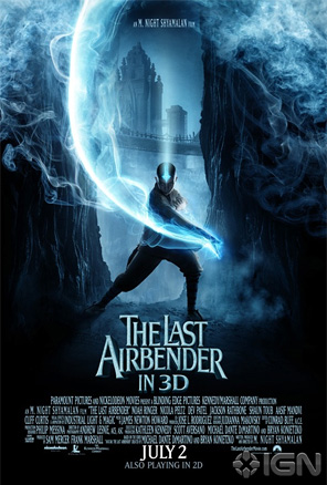 The Last Airbender Poster - Aang