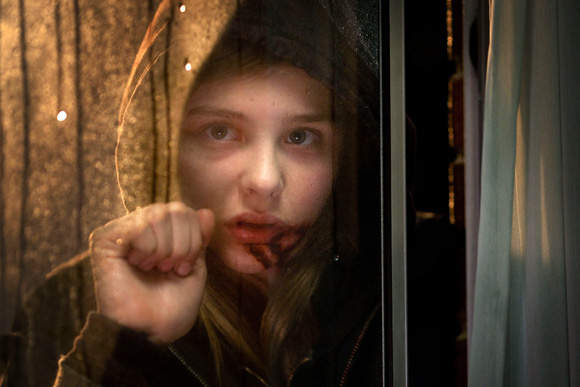 Chloe Moretz as Abby in Let Me In