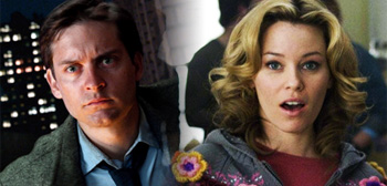 Tobey Maguire and Elizabeth Banks