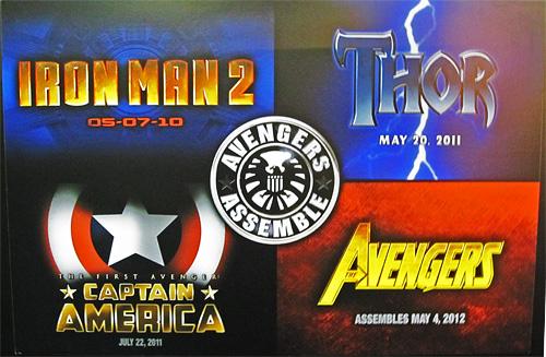 Marvel Movie Logos - Licensing International Expo