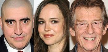 Alfred Molina, Ellen Page, John Hurt