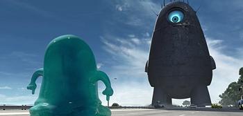 Monsters vs Aliens Super Bowl TV Spot in 3D
