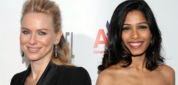 Naomi Watts and Freida Pinto