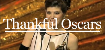 Oscar Thank You Speech