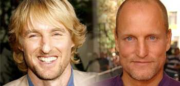 Owen Wilson and Woody Harrelson