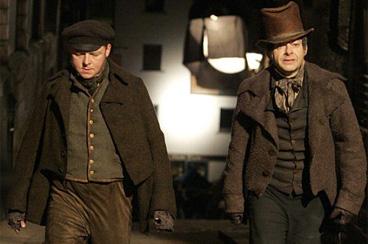 Simon Pegg & Andy Serkis in John Landis' Burke & Hare
