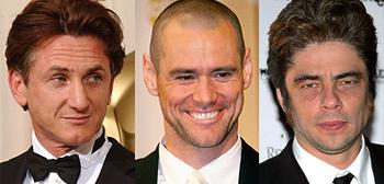 Sean Penn, Jim Carrey, Benicio Del Toro