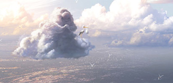 First Look: Pixar's New Short Film Partly Cloudy!