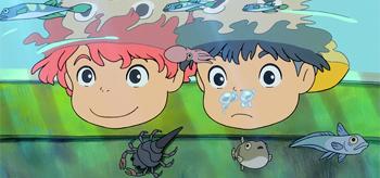 Gorgeous New Photos from Hayao Miyazaki's Ponyo!