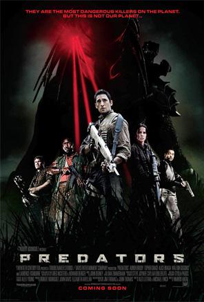 International Predators Poster
