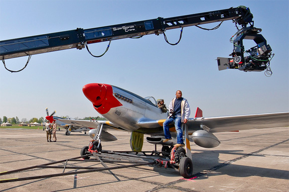 Red Tails Behind-the-Scenes Photo