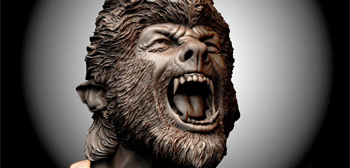 Check This Out: Rick Baker's Concept Art for Wolf Man