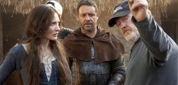 Russell Crowe & Cate Blanchett in Robin Hood