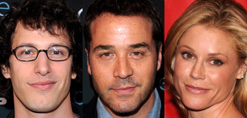 Andy Samberg, Jeremy Piven, Julie Bowen