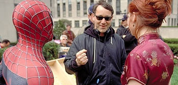 Sam Raimi Directing Spider-Man