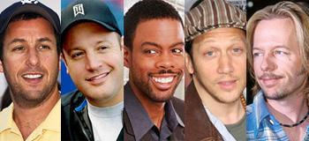 Adam Sandler, Chris Rock, Kevin James, Rob Schneider, David Spade