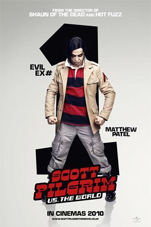 Scott Pilgrim Poster - Matthew Pattel