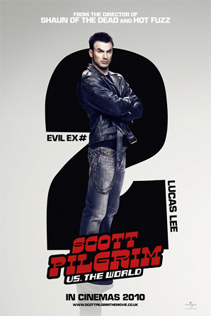 Scott Pilgrim Poster - Lucas Lee