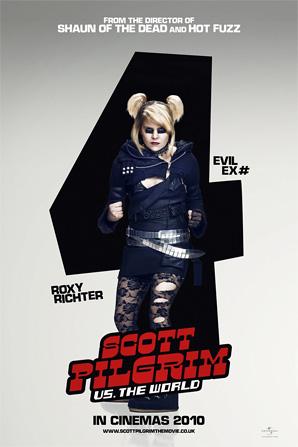 Scott Pilgrim Poster - Roxy Richter