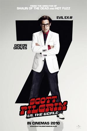 Scott Pilgrim Poster - Gideon Graves