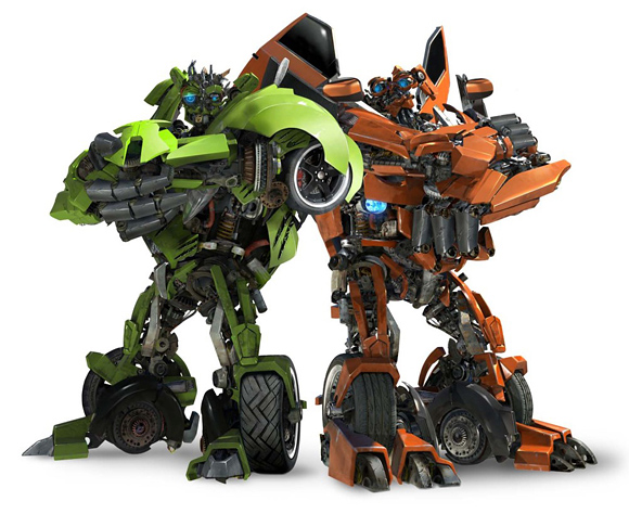 Transformers: Revenge of the Fallen - Skids and Mudflap