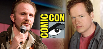 Joss Whedon & Morgan Spurlock - Comic-Con