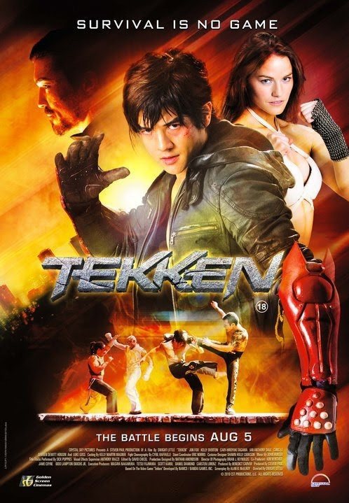 Tekken Movie Poster